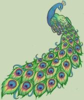 Peacock by pxiestx99