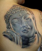 Sleeping Budda by noserider