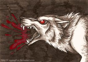 Bloodlust ACEO by CunningFox