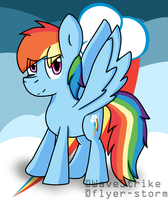 Rainbow Dash by WaveStrike