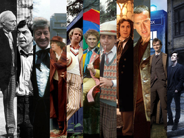 The 11 Doctors wallpaper by adamis