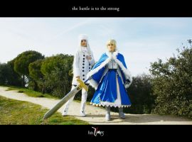 Fate/Zero - The battle is to the strong by sakuritachan92