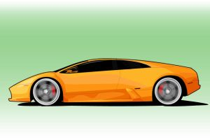 Murcielago Toon by PORSCHER