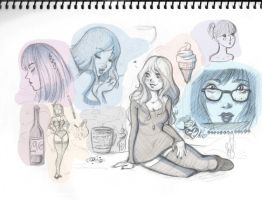 Sketches- Girls by Inner-D