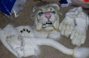 Lion partial by Bladespark
