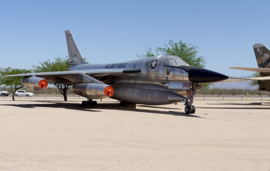 Convair B-58 Hustler by shelbs2