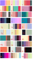 GIANT Color Palette Adopt Dump 2 CLOSED by coolkatadopts