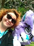 | Foxx and Dazzle | Anthrocon 2014 by DazzlingVoxx