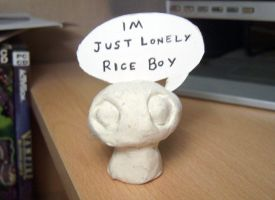 Lonely Rice Boy by Morgoth883