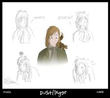 Dustfinger's Expressions by Skailla