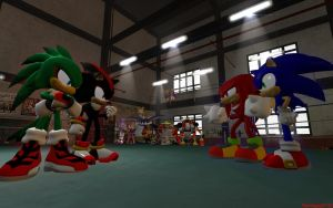 Tag Team Match by Someguy2132