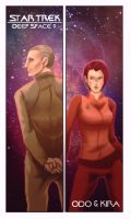 Star Trek DS9 Odo and Kira by Lei-sam