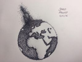 Earth Stippling by MarcoHauwert