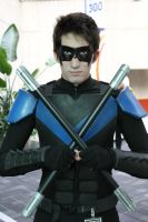 Nightwing @ Youmacon by DarkstarCosplay