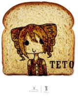 Teto Really LOVES toast by hinatacookie2008