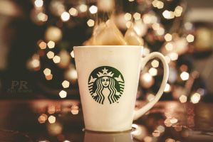 Christmas starbucks 3  (natural light) by ARIANA1985