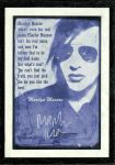 Marilyn Manson's Quotation by Meanmichael