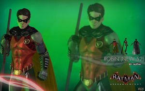 Batman Arkham Knight - Robin (New 52) by XNASyndicate