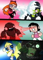 PPG KIds in action by toongrowner