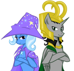 Trixie X Loki by little-red-Hamster