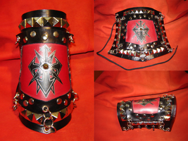 Chaos Mercenary Bracer by victorpapa