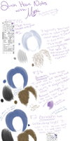 Quick Hair Notes by MystikallyChallenged
