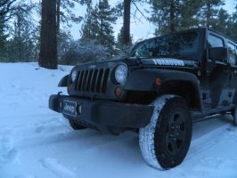 Jk's first snow run by algreat
