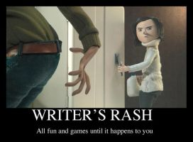 Coraline: Writer's Rash by Graystripe64