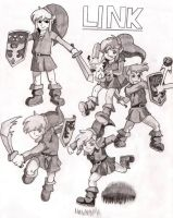 Link, Link, Link by aLeXa-on-fire