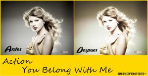 """Action para PSc """"You Belong With Me"""" by Mica-Editions"""