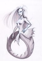 Anonymous Mermaid by friedsashimi7
