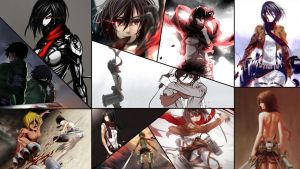 Mikasa Collage 2 by Dinocojv