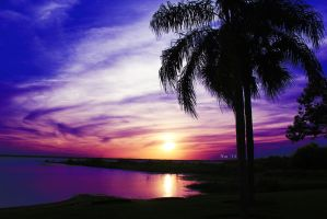 Sunset in Sebring by NatPal