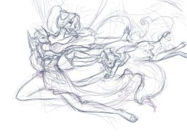 The protective mother... WIP by theNekk