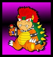 Tiny Bowser by BlackBirdo
