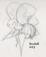 015-Beedrill by Giggles-the-Panda