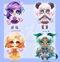 Cutie Adopts: SOLD OUT by RaineSeryn