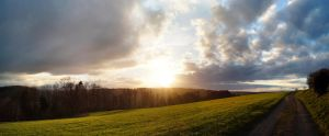 Sunset Embrach by phxch