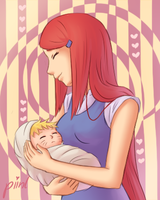 Motherly Love by piinl