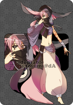 Adoptable: Hayal Species 04 [CLOSED] by tofumi
