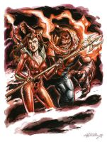 Raging Red Lanterns by funrama