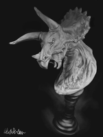 The Triceratops by the-b3ing
