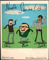 Noodle Stories :D by thesometimers