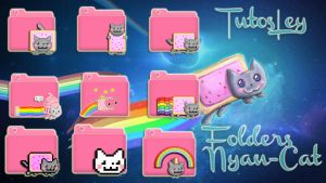 Folders Nyan-Cat by leyfzalley