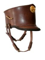 Steampunk Leather Shako 3 by AmbassadorMann