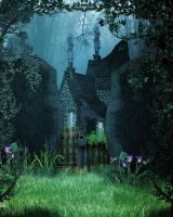 Enchanted Forest Bg by Moonglowlilly