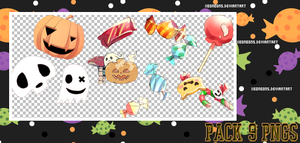Halloween PNG'S by xMissOMG