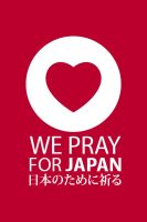 WE PRAY FOR JAPAN 01 by Lemongraphic