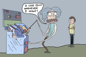 Rick and Morty Visit The MMORPG Realm by edwarddinzole