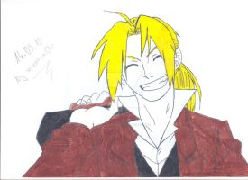 REQUEST:Edward Elric by uczennica06